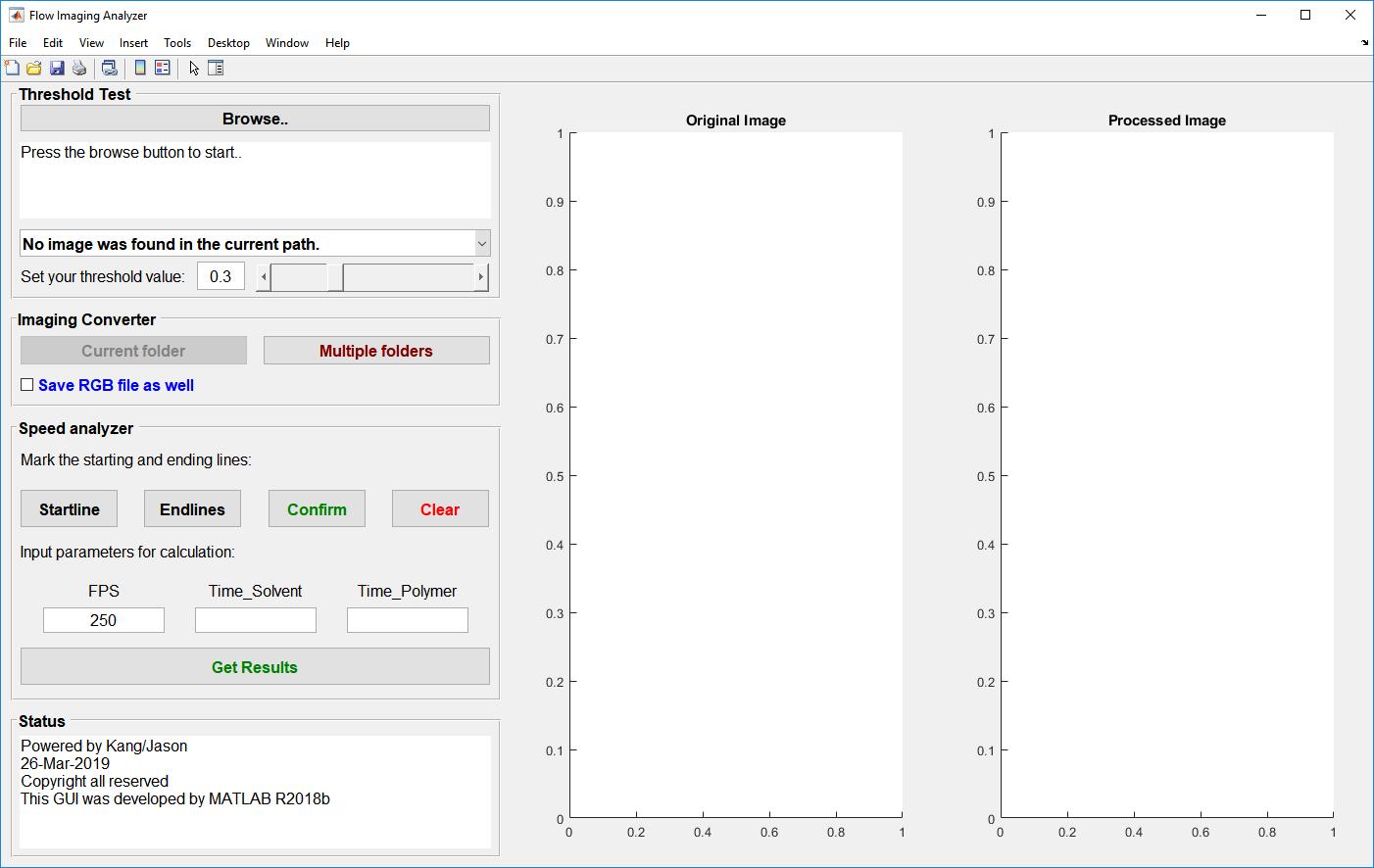 FlowCheck - MATLAB GUI for estimating viscosity | OIST Groups