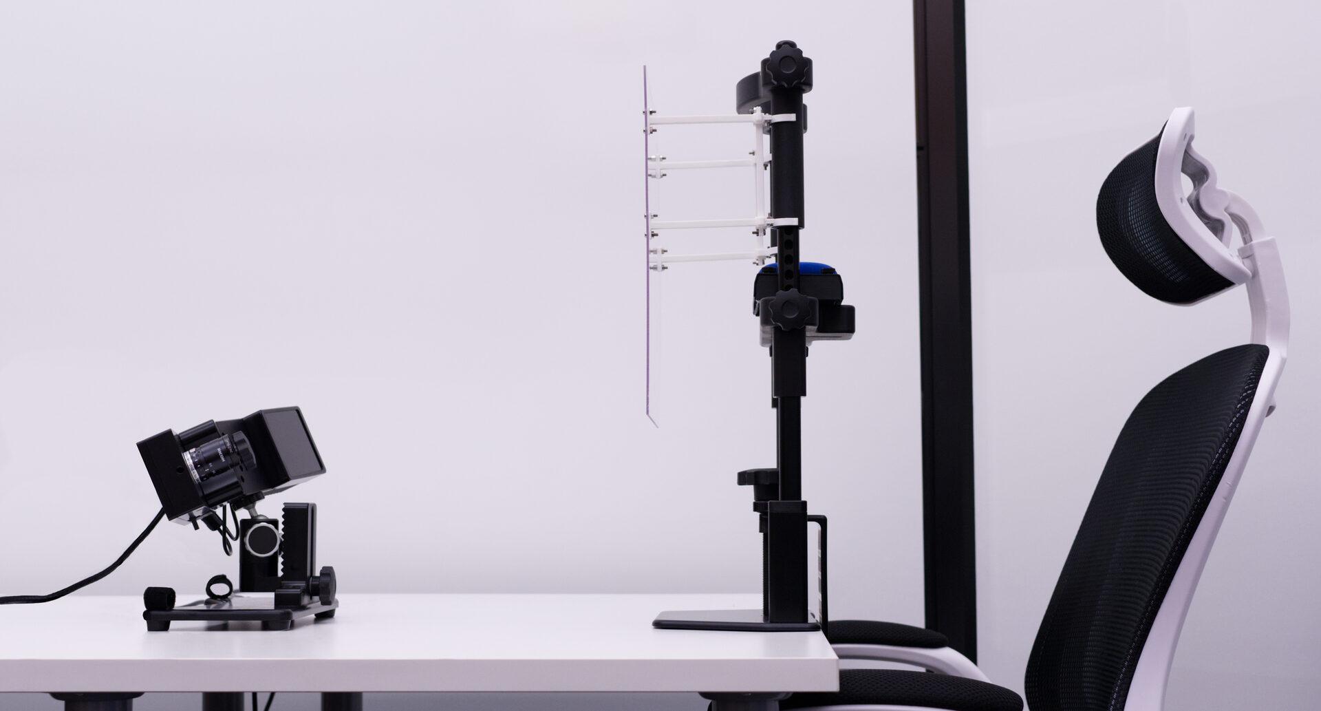 Eye tracker Setup