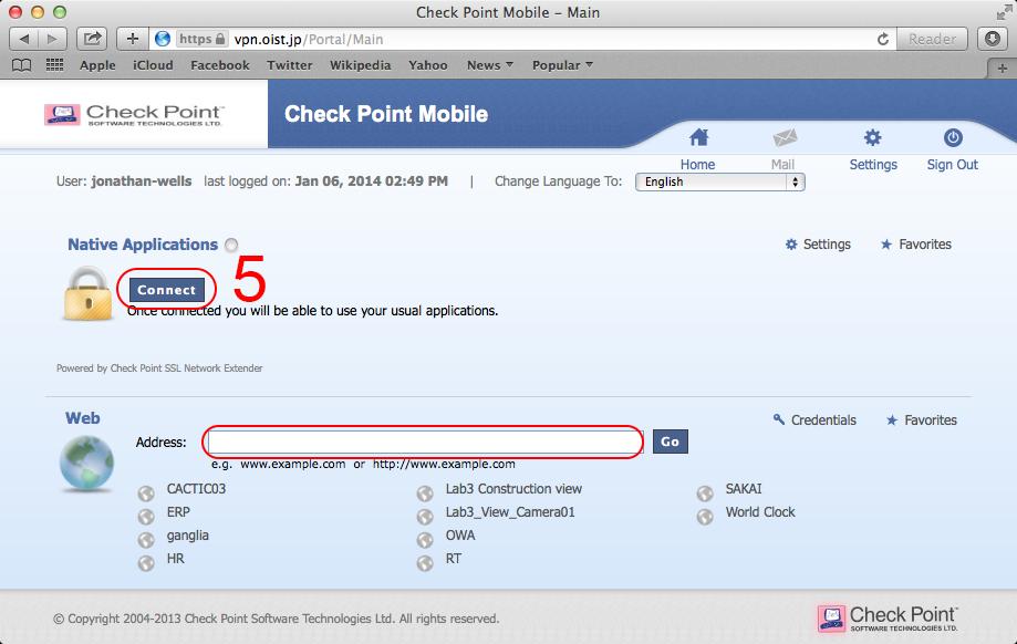 How to log onto VPN for Mac | OIST Groups